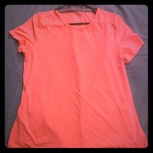Pink Short Sleeve Workout Shirt
